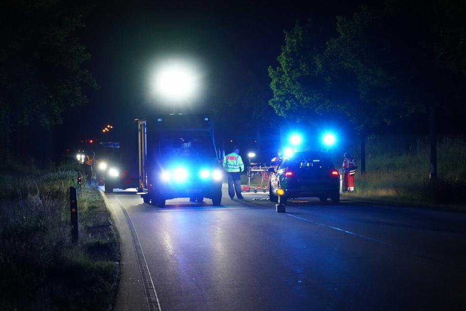 Während der Unfallaufnahme war die B156 für rund zwei Stunden gesperrt.