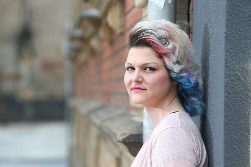 Stefanie Reißig möchte Miss Handwerk werden. Die gelernte Friseurin macht jetzt eine Umschulung zur Einzelhandelskauffrau.