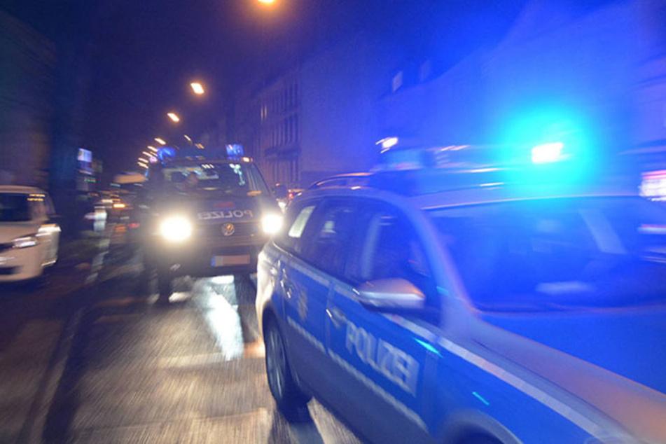 Montagabend musste die Polizei in einer Asylunterkunft in Borna für Ordnung sorgen.