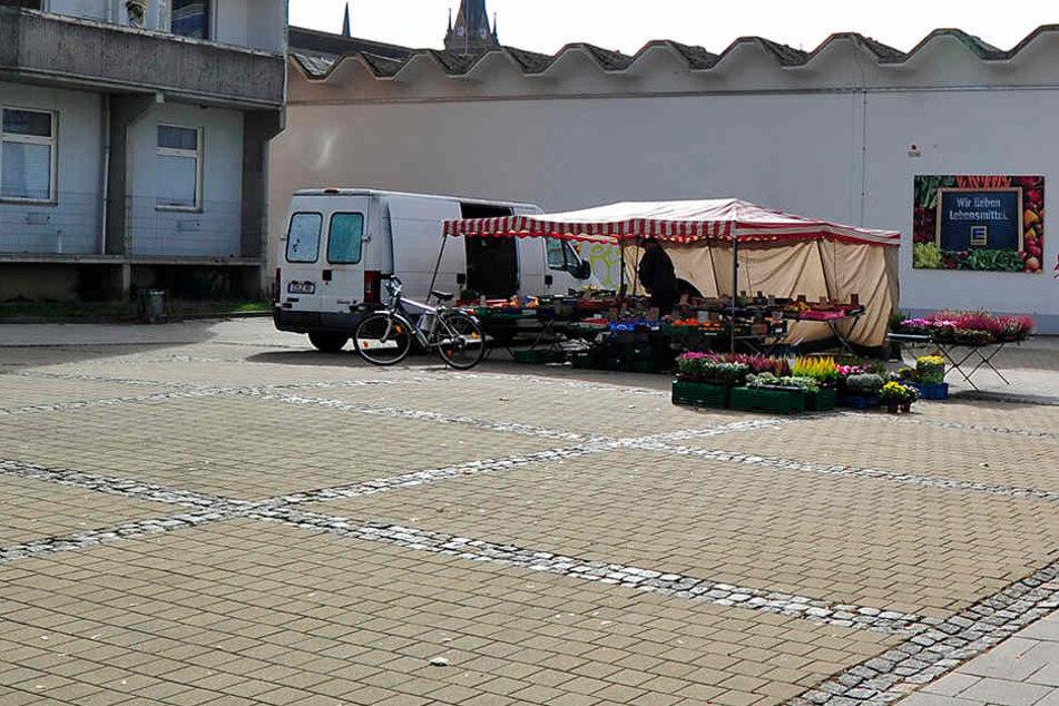 Zwei Mini-Wochenmärkten, unter anderem am Brühl droht das Aus.