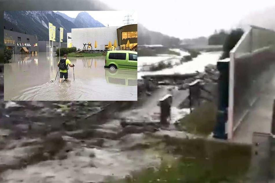 Hochwasser-Verwüstung in Tirol: Zieht das Unwetter jetzt zu uns?