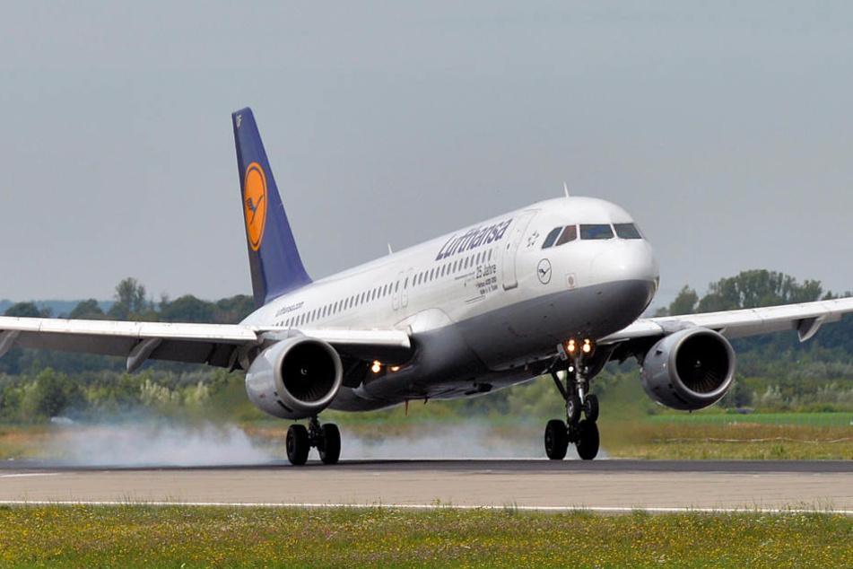 In Frankfurt wurden insgesamt neun Piloten mit der Hilfe von Laserpointern geblendet.