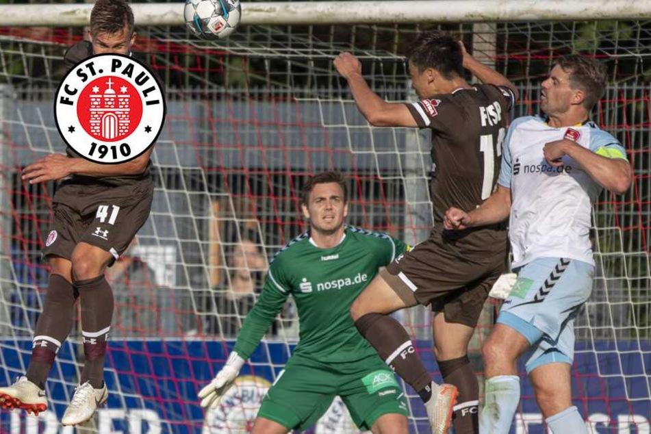 St. Pauli gewinnt Test gegen Flensburger Regionalligisten nur knapp