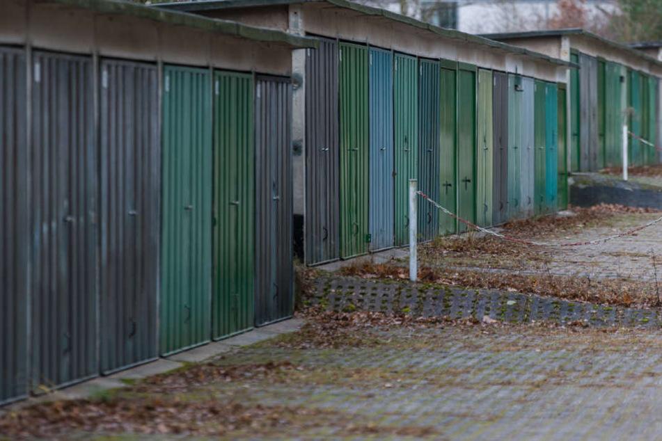 Die meisten der Dresdner Garagengemeinschaften müssen um ihre  Zukunft bangen.