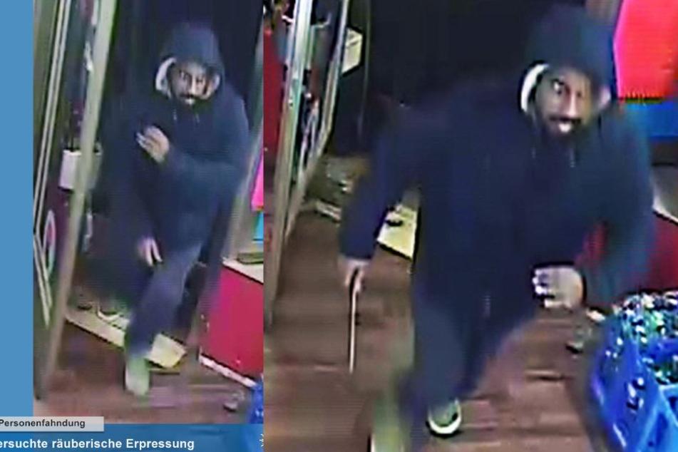 Die Polizei Köln sucht diesen Messer-Mann wegen eines versuchten Raubüberfalls.