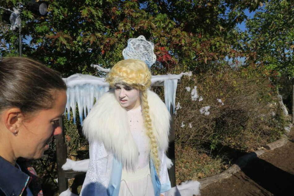 Im Märchen-Labyrinth treffen Kinder unter anderem auf die Schneekönigin.