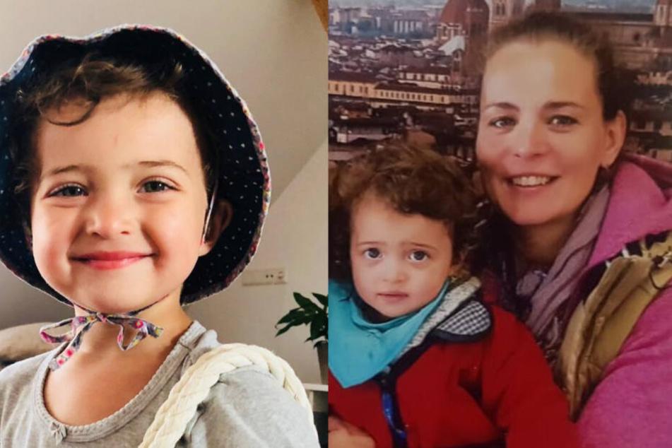 Mutter Anja und ihre kleine Tochter sind einfach verschwunden.