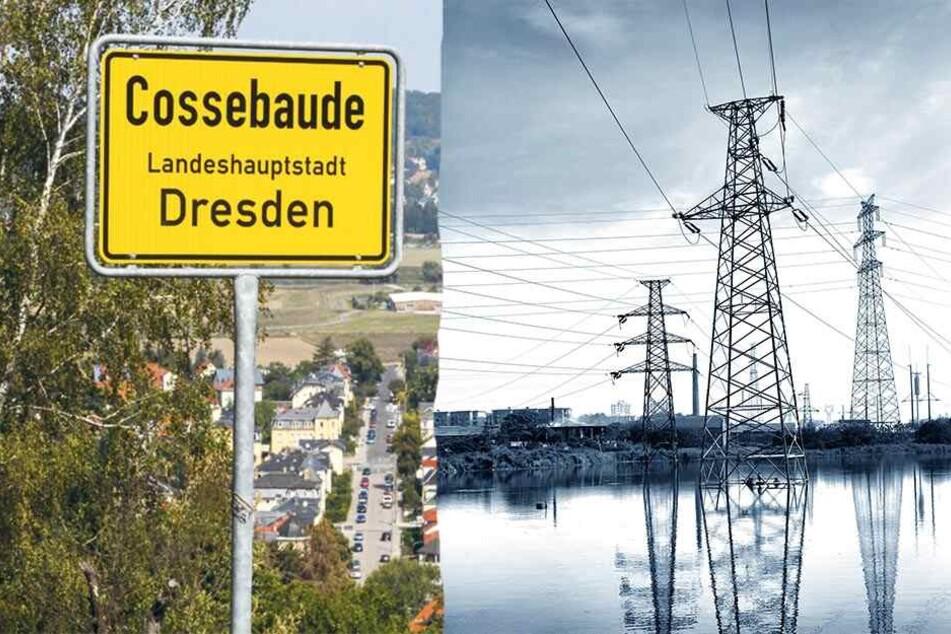 Dresden: DREWAG dreht Cossebaude den Strom ab, Anwohner stinksauer!