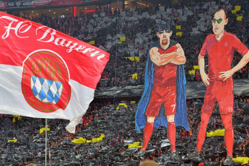 Für die Fans sind Franck Ribéry und Arjen Robben besondere Spieler. (Archivbild)