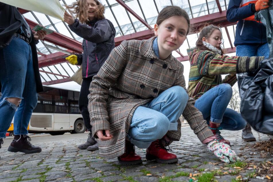 Reinemachen For Future: Greta räumt Zwickau auf