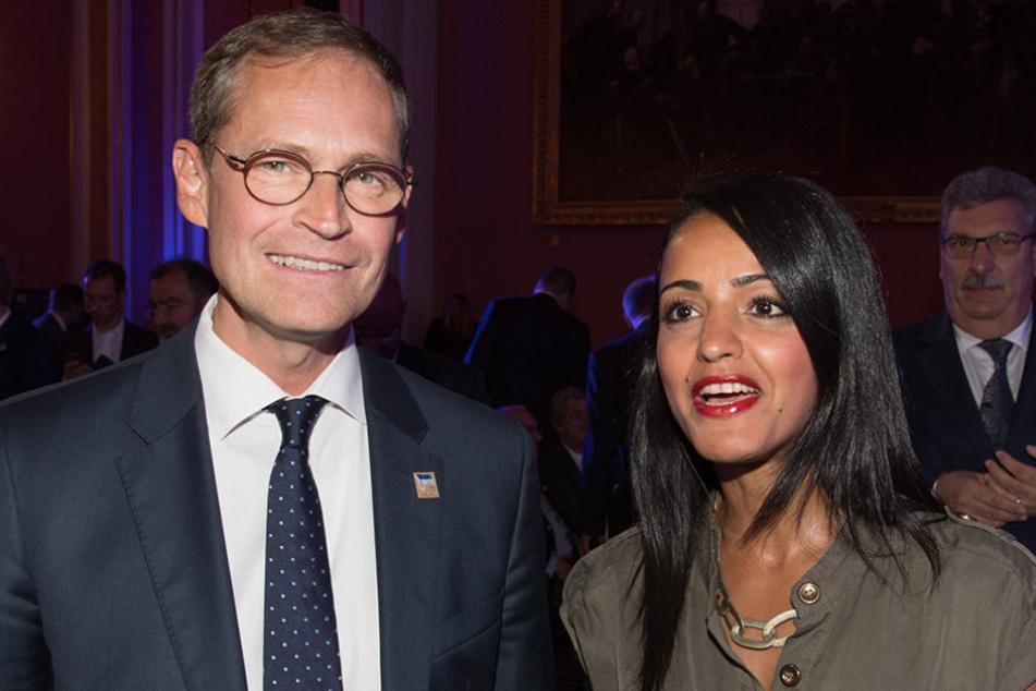 Sawsan Chebli ist als Staatssekretärin für Berlins Regierenden Bürgermeister tätig.