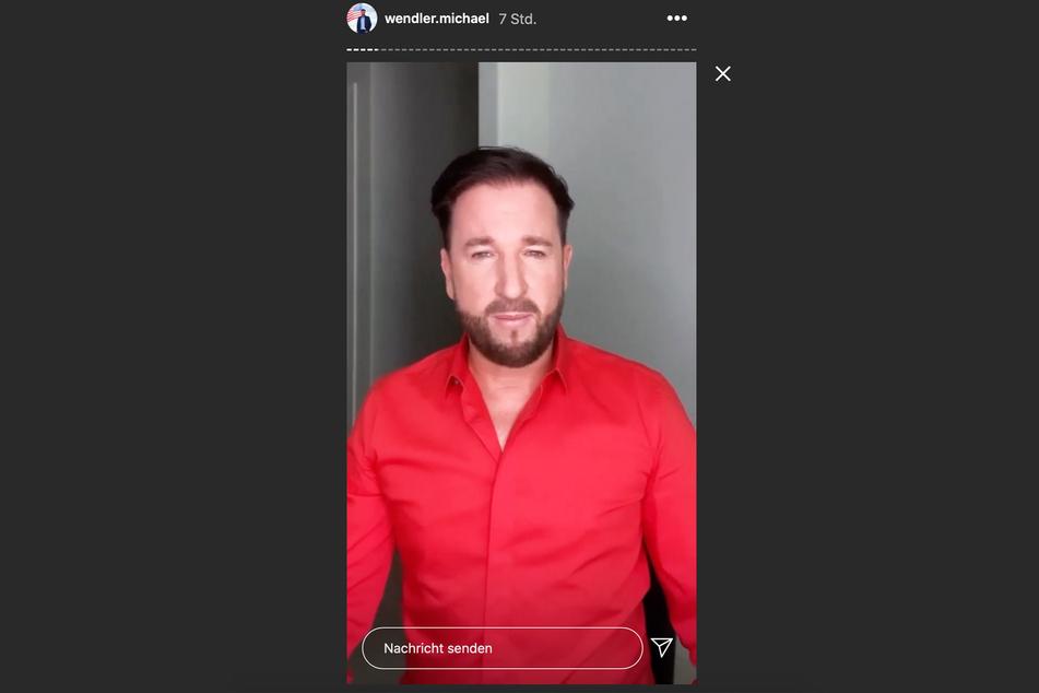 Mit 51 Story-Beiträgen meldete sich Michael Wendler auf Instagram zurück.