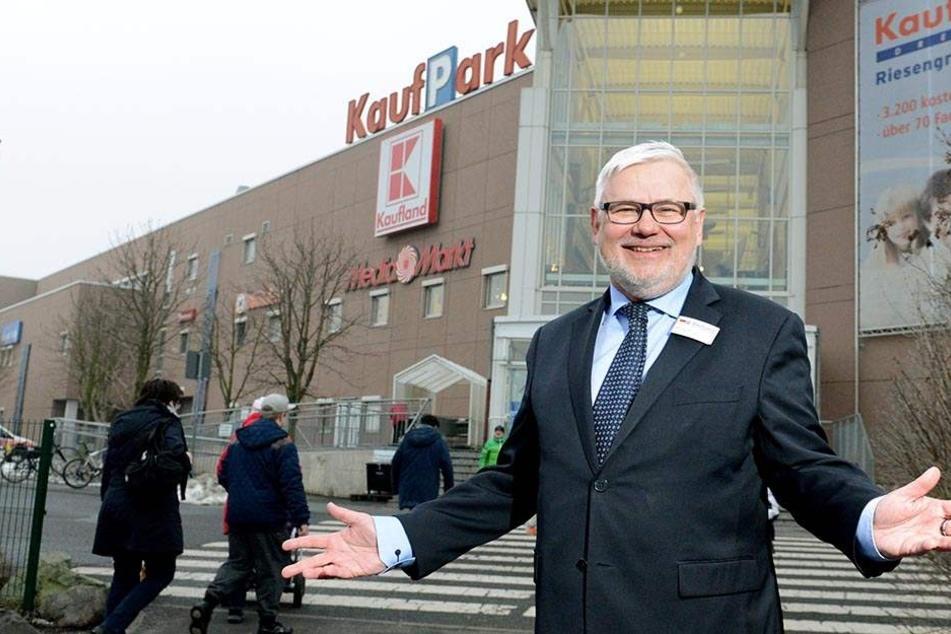 KaufPark-Chef Michael Bilinger geht schon wieder.