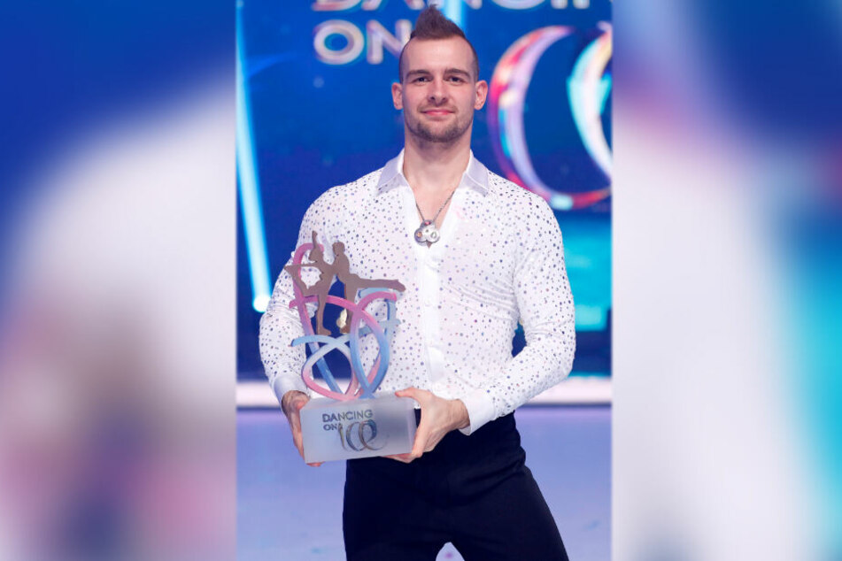 """Eric Stehfest (30) erkämpfte sich den Sieg bei der TV-Show """"Dancing on Ice""""."""
