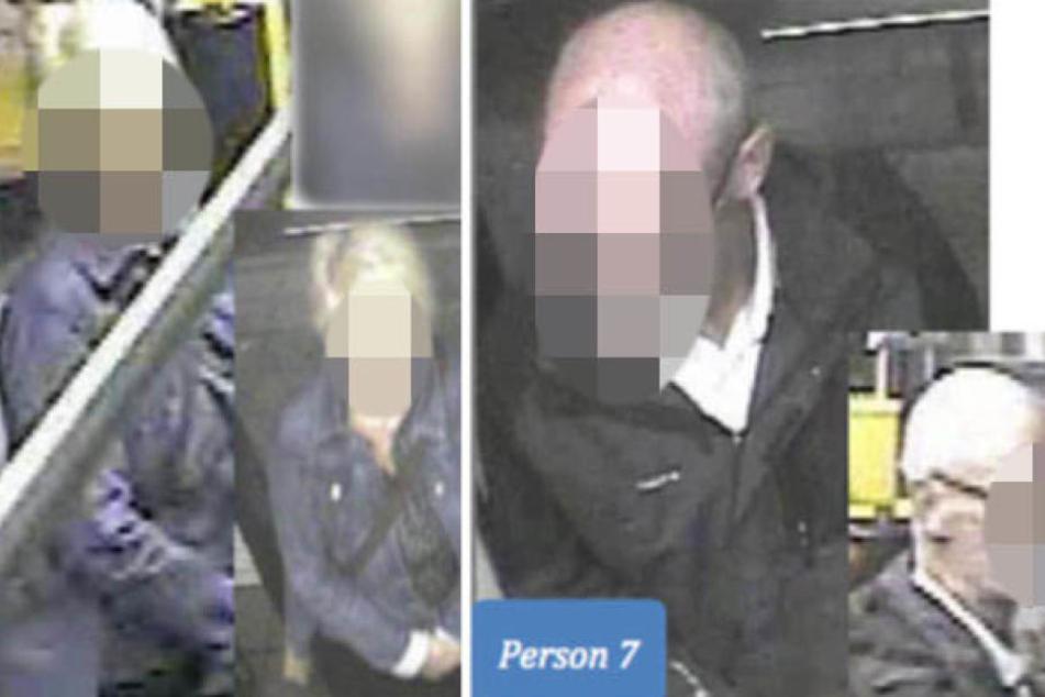 Nach der Frau mit den blonden Haaren und dem glatzköpfigen Mann mit markantem Schnurrbart sucht die Polizei nach wie vor. Sie befanden sich mit dem Mordopfer Stefan M. in derselben Straßenbahn.