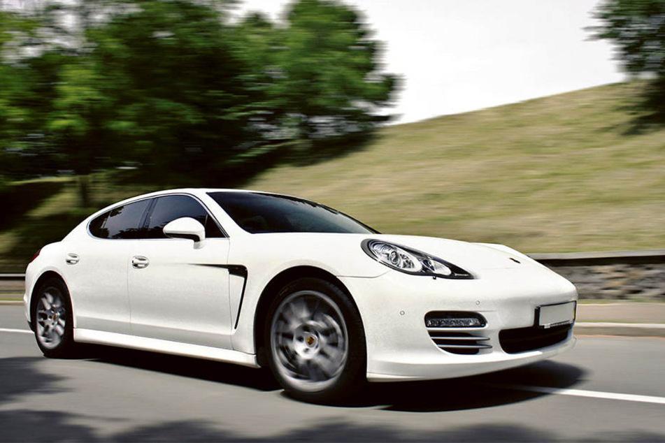 Ebenfalls ein Objekt der Begierde: Der Porsche Panamera.
