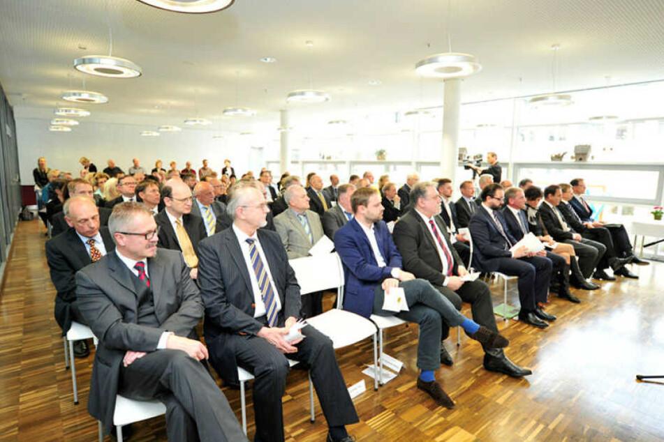 Feierstunde zur Amtseinführung des neuen Präsidenten des Landgerichts Chemnitz Rainer Huber.