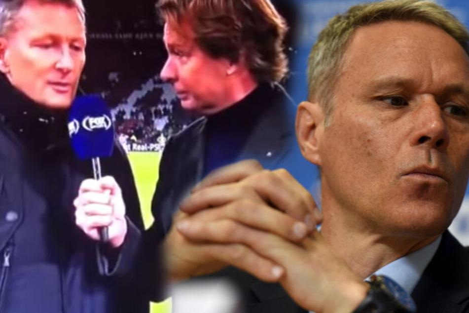 """Marco van Basten: Konsequenzen nach """"Sieg Heil""""-Skandal"""