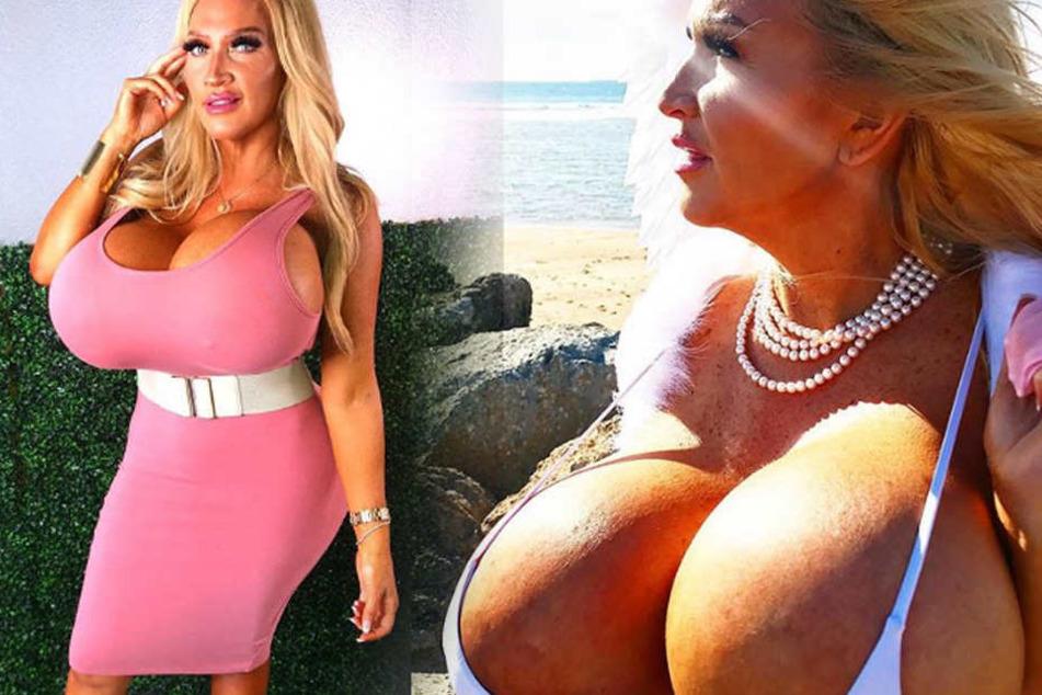 Allegra Cole liebt ihre überdimensionalen Brüste.