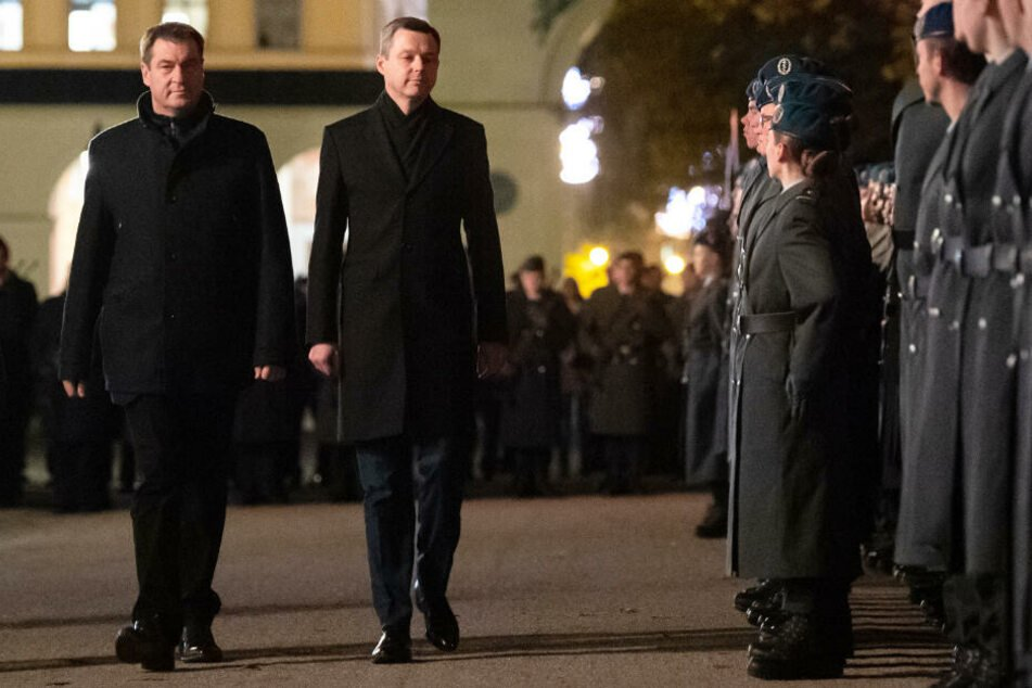 Bundeswehr-Gelöbnis in München: Protest bleibt friedlich