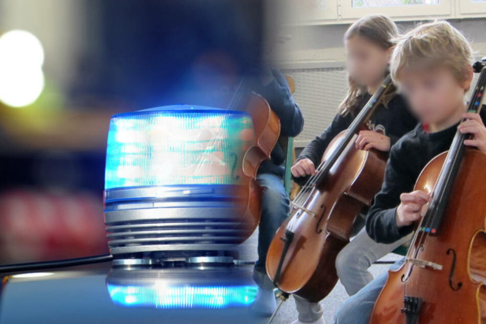 Die gestohlenen Instrumente waren sogar noch mit Schulaufklebern versehen (Symbolfoto).