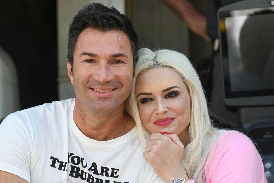Lucas Cordalis (50) und Daniela Katzenberger (31) sind ein Herz und eine Seele.