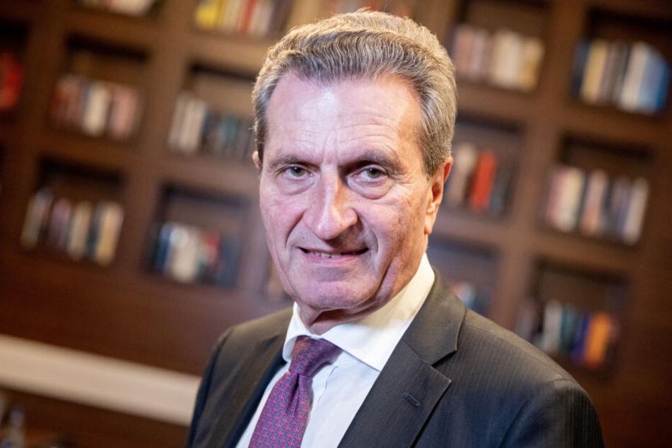 Früher Ministerpräsident von Baden-Württemberg: Günther Oettinger.