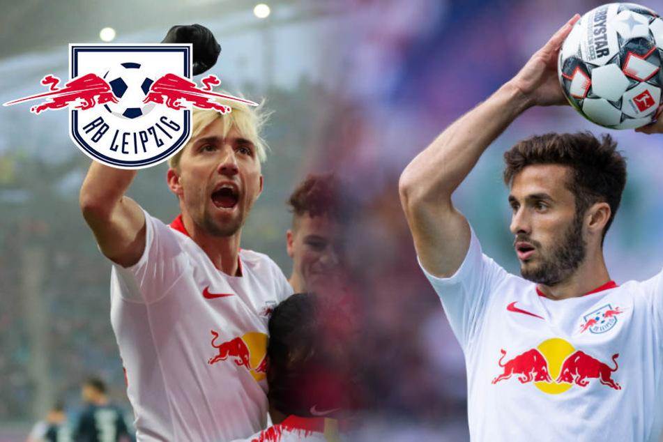 Freuden-Tag bei RB Leipzig: Kampl wieder im Training und ein Sohn für Saracchi
