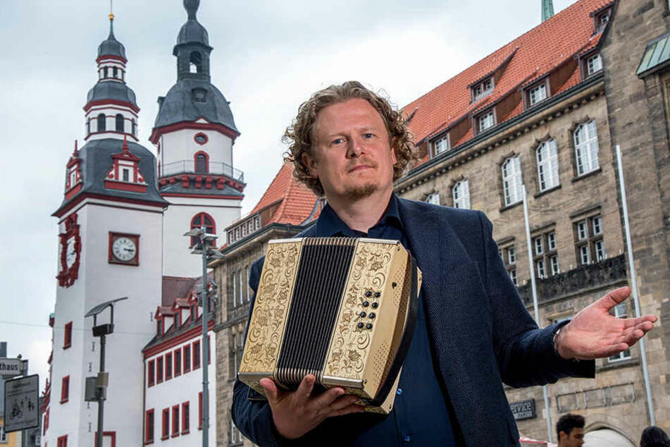 Vosi-Stadtrat Lars Fassmann (40).