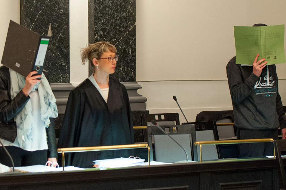Mord wegen Auto: Paar in Zwickau verurteilt