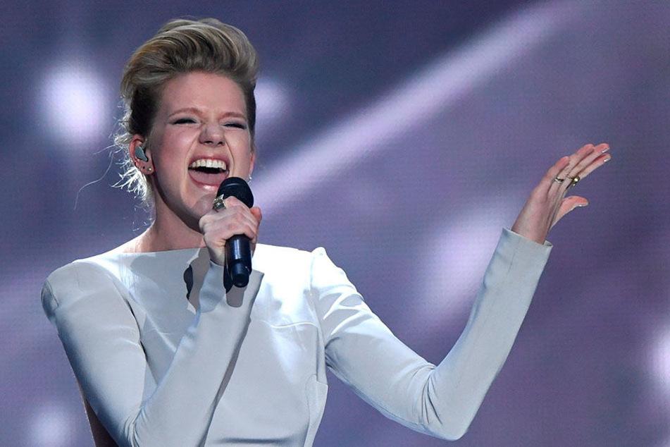Beim 62. Eurovision Song Contest am 13. Mai in Kiew landete Deutschlands Star  Levina (26) auf dem vorletzten  Platz.