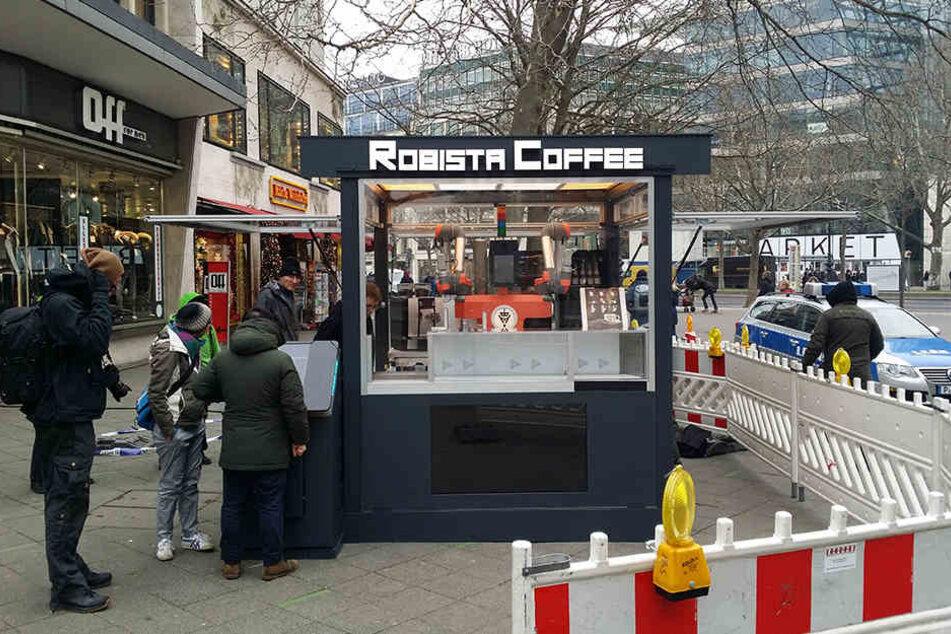 Hat der Roboter im kleinen Coffee-Shop den Besitzer getötet?