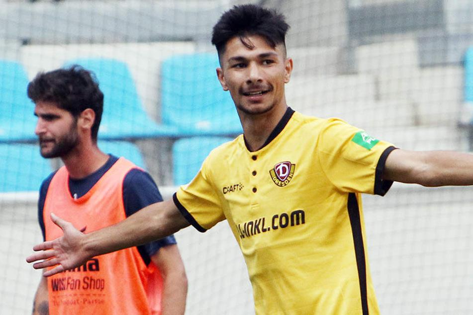 Aus der A-Jugend aufgestiegen! Osman Atilgan ist neu im Profikader der Dresdner Dynamos.