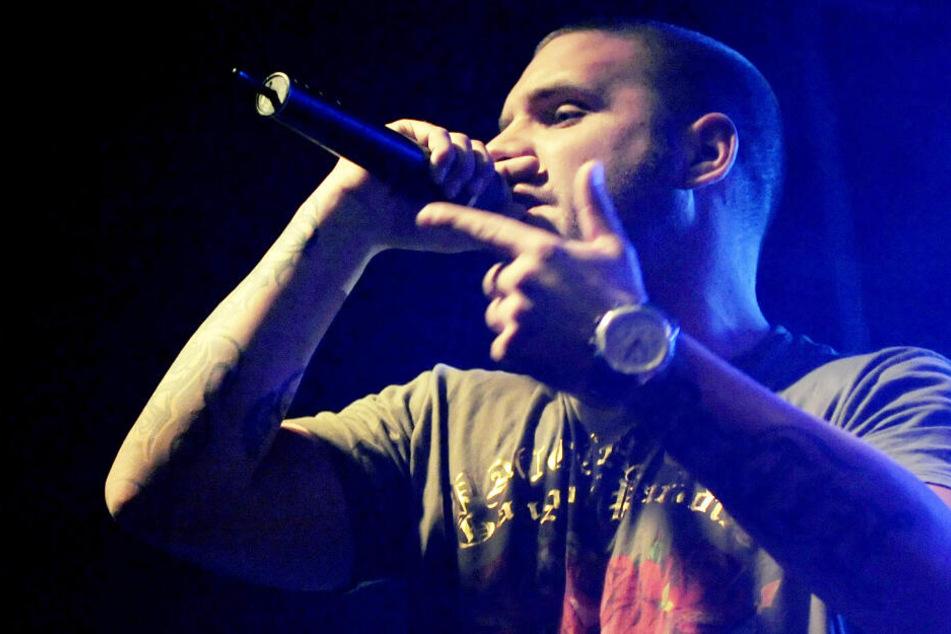 Der in Berlin geborene Rapper Fler bei einem Auftritt im ColumbiaClub.