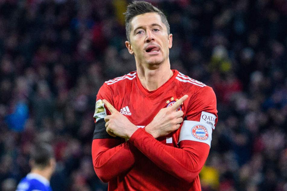 Robert Lewandowski und der FC Bayern München haben sich die Meisterschaft gesichert.