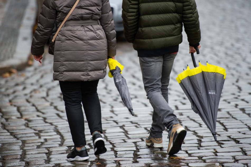 Die Hessen sollten den Regenschirm besser nicht zuhause vergessen.