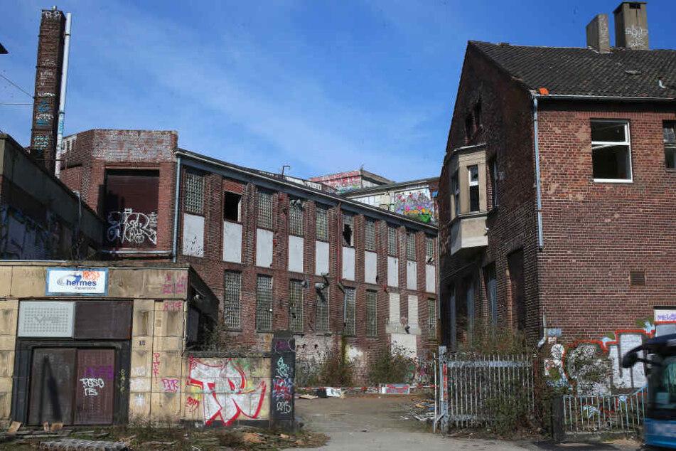 In dieser stillgelegten Papierfabrik wurde die Leiche der Teenagerin gefunden.