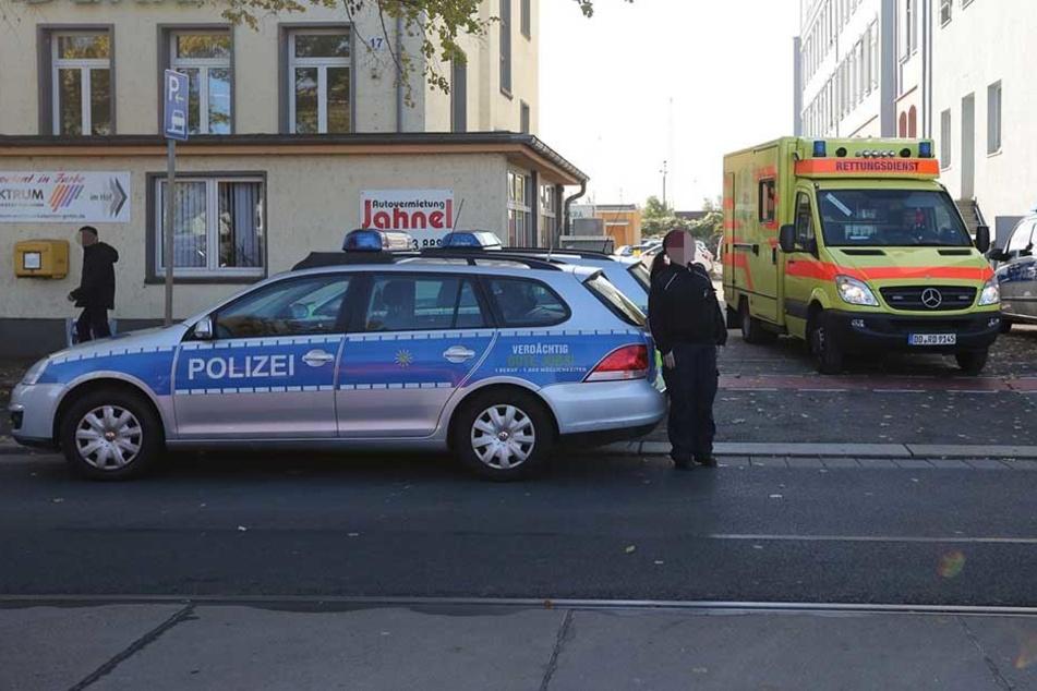 Am Donnerstag mussten Polizei und Rettungskräfte auf der Hamburger Straße anrücken (Archivbild).