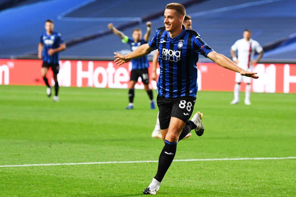 Der gebürtige Mainzer Mario Pasalic brachte Atalanta Bergamo mit 1:0 in Führung.