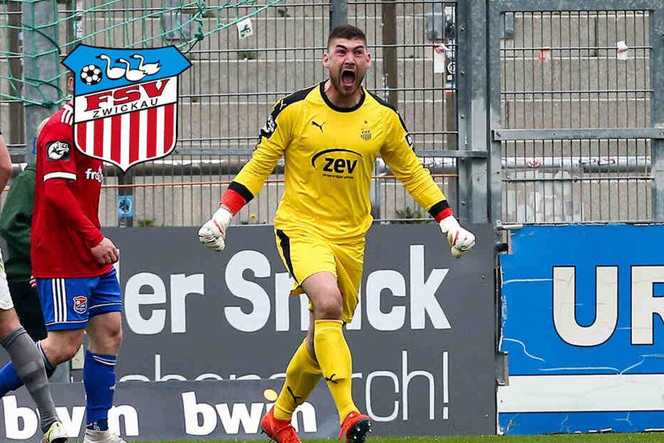 FSV Zwickau: Kein Drittliga-Keeper hielt mehr Elfer als Brinkies