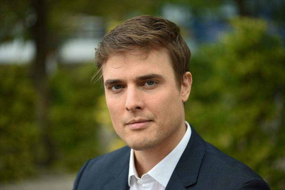 """Constantin Schreiber (41), jetzt Sprecher der ARD-""""Tagesschau""""."""