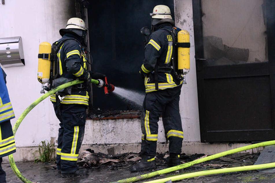 Bisher ist unklar, wieso das Feuer ausbrach.