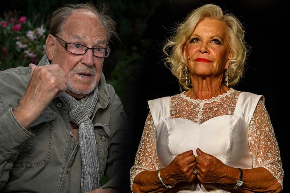 Die Theaterbühne ist sein Leben: Herbert Köfer (96) lässt sich auch von  Unfällen nicht bremsen. - Auch wenn es mal ziept oder sticht: Chansonette Dorit Gäbler (74) steht auf der Bühne ihren Mann,  auch am 9. Dezember im Boulevardtheater.