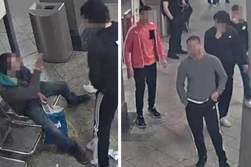 Sie verprügelten einen Obdachlosen! Schlägerbande erscheint auf dem Revier