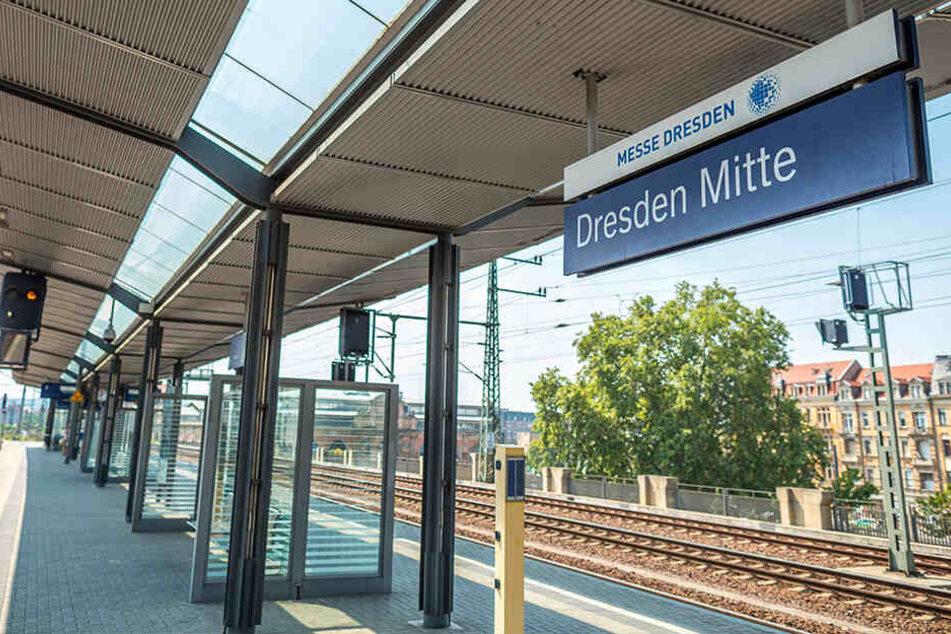 Der Somalier rastete am Bahnhof in Dresden Mitte komplett aus.