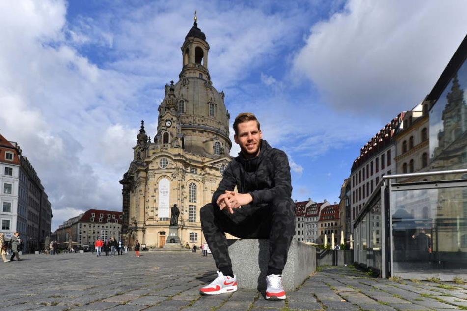 Justin Eilers spielte zwei Jahre für Dynamo Dresden.