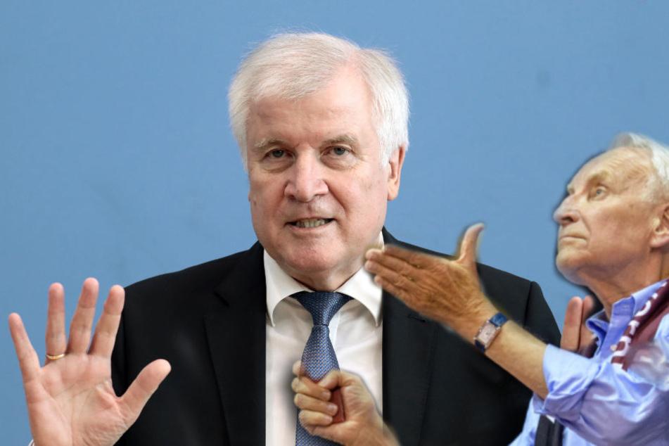 Stoiber warnt vor Rücktrittsforderungen an Seehofer
