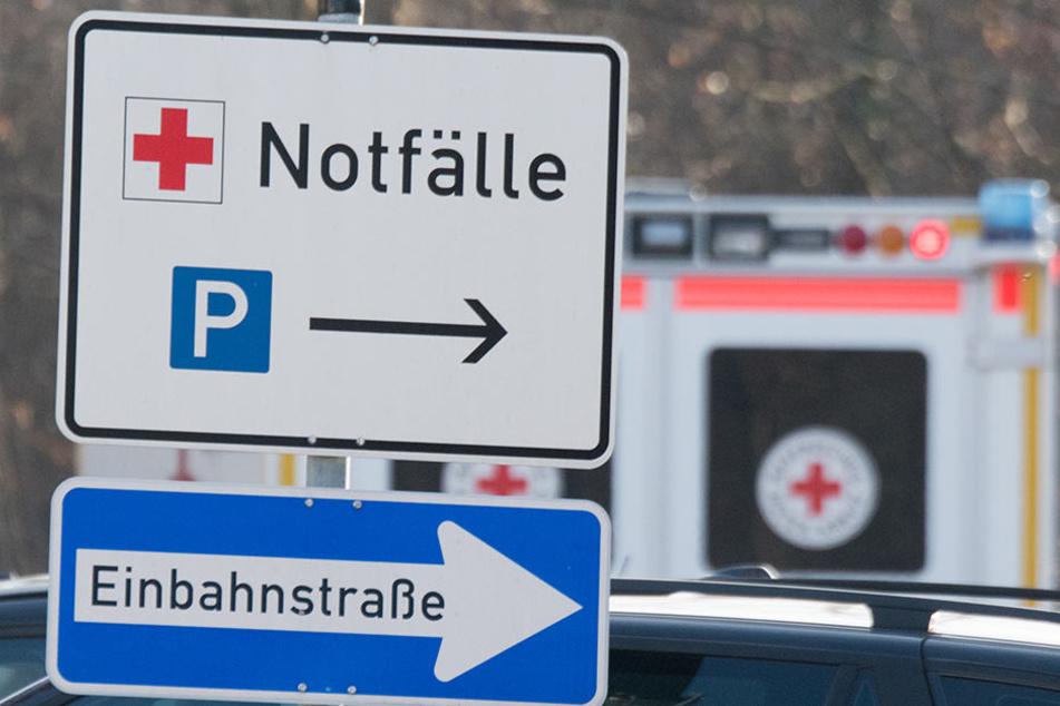 Nach der Prügelattacke des fremden Mannes, musste der 19-Jährige wegen Schwindelattacken ins Krankenhaus Wurzen.
