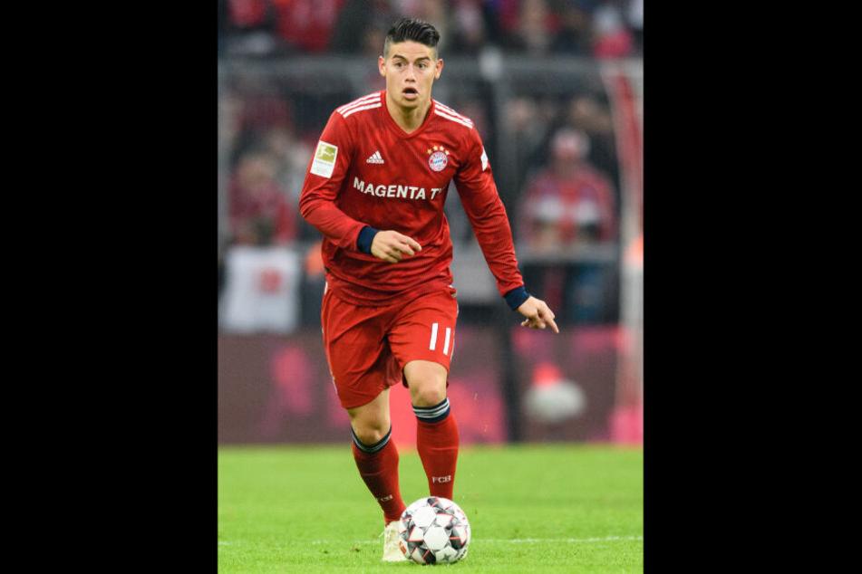 Ob der FC Bayern die Kaufoption bei James zieht, ist unklar.