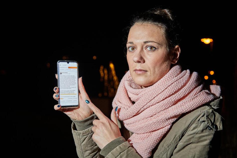 Übers Handy hat Nellys Mutter im Internet einen Aufruf gestartet.